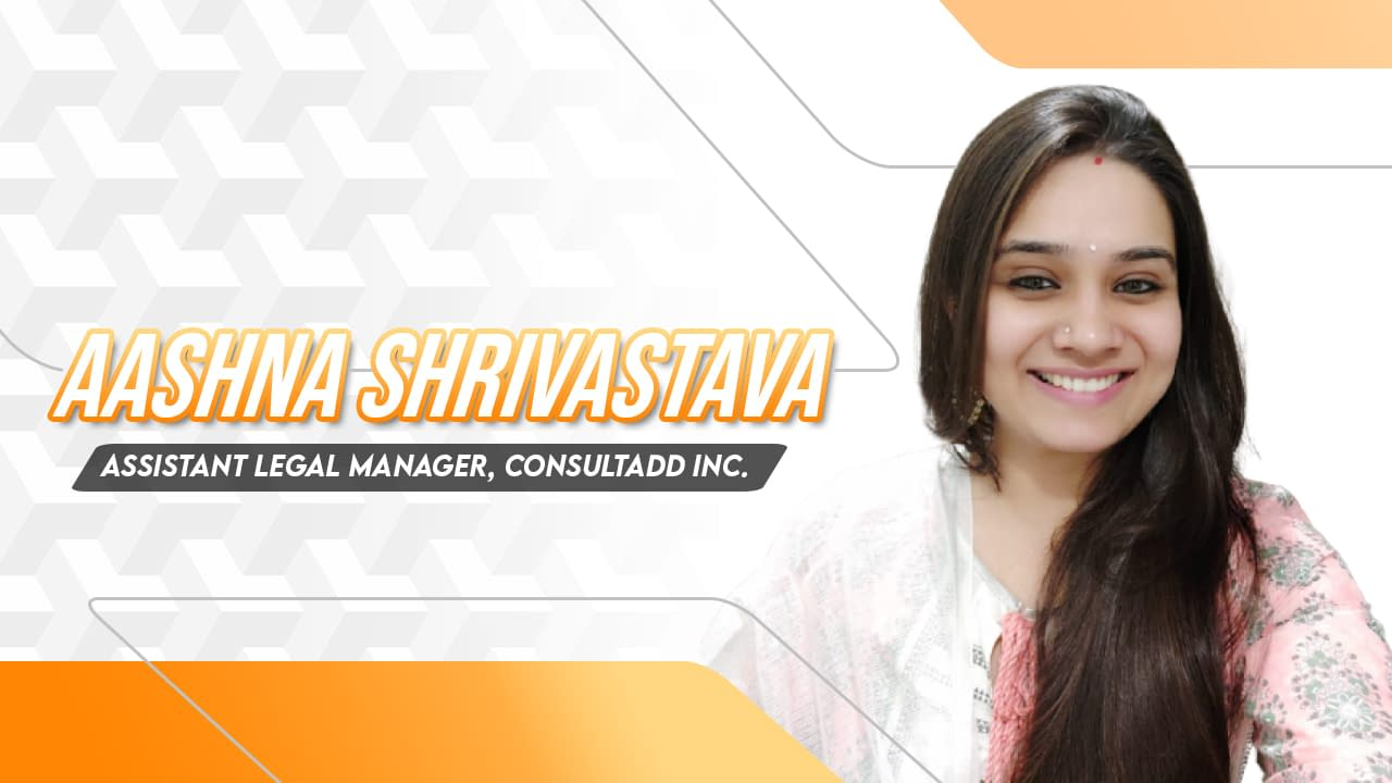 Legal Manager at consultadd - Aashna